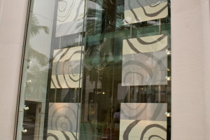 painted panels for hermes in beverly hills