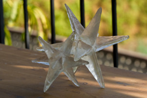 cast resin star prototypes for hermes