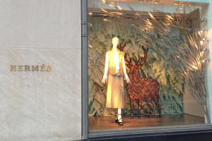 hermès madison ave windows