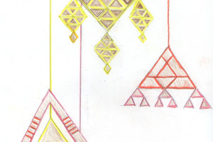 triangular mobiles for bash, please event