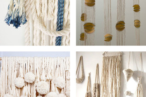 inspiration for fiber art installation