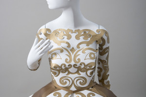 intricate paper dresses by burke & pryde