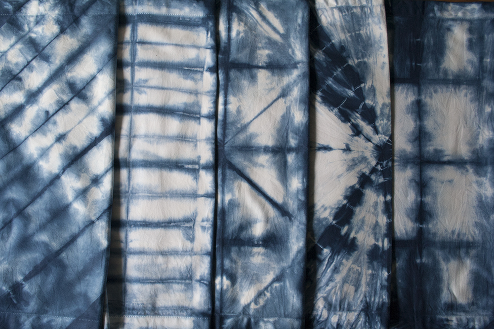 Shibori Linens - Textile Design | Bramble Workshop