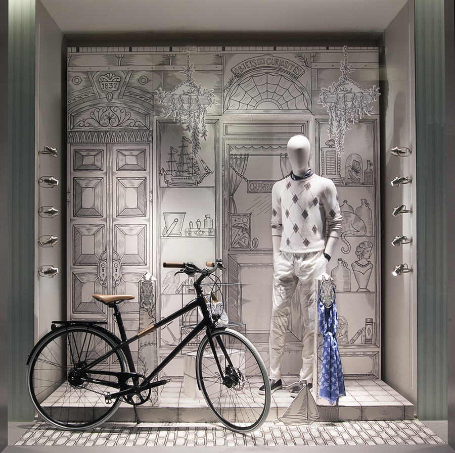 City Street Windows - Hermès | Bramble Workshop
