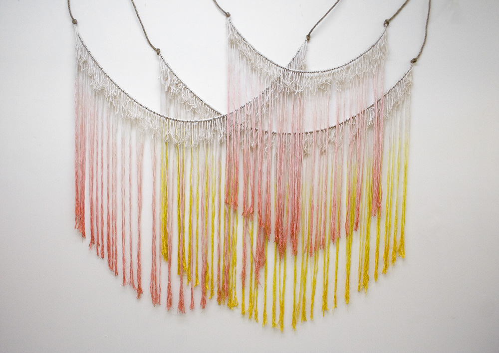 Dip-Dyed Wall Hangings - Ella Moss | Bramble Workshop