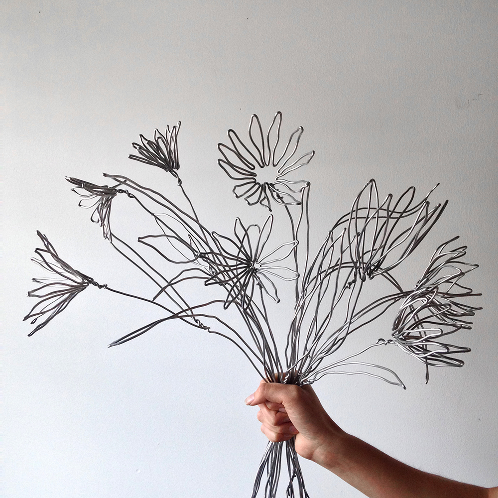 Wire Flowers for Hermès | Bramble Workshop