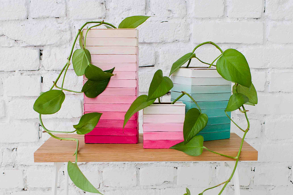 Ombre Vases for Designlovefest | Bramble Workshop