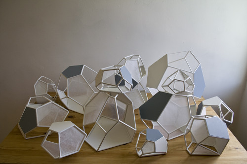 Polyhedron Windows (in progress) - Hermès | Bramble Workshop