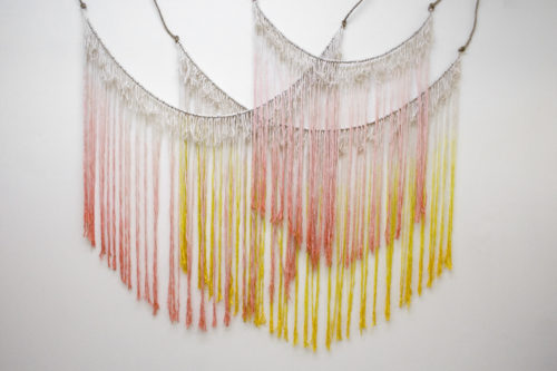 Wall hanging for Ella Moss | Bramble Workshop