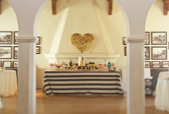 Gold-sequined Heart - Bash, Please | Bramble Workshop