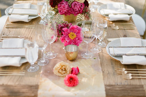 linens in Martha Stewart Weddings