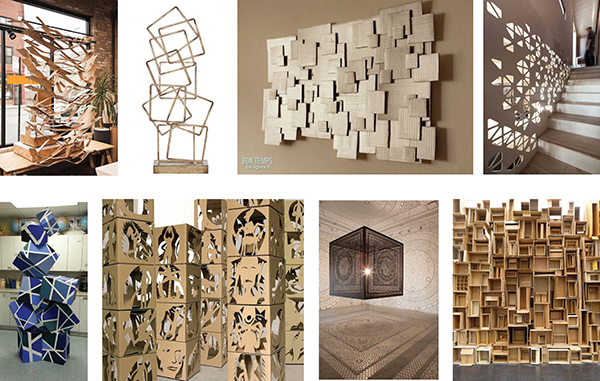 Cardboard Art Inspiration | Bramble Workshop