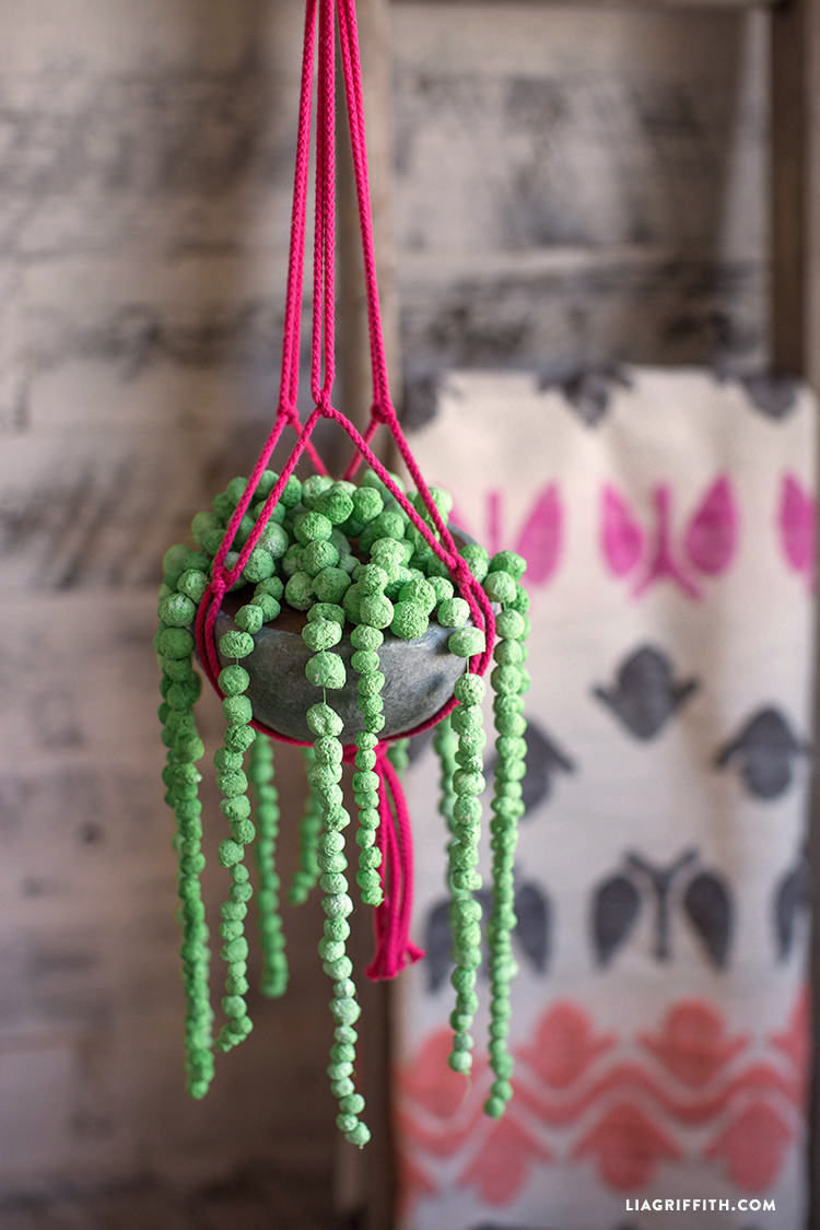 Bramble Workshop for LGM | Paper Mache String of Pearls
