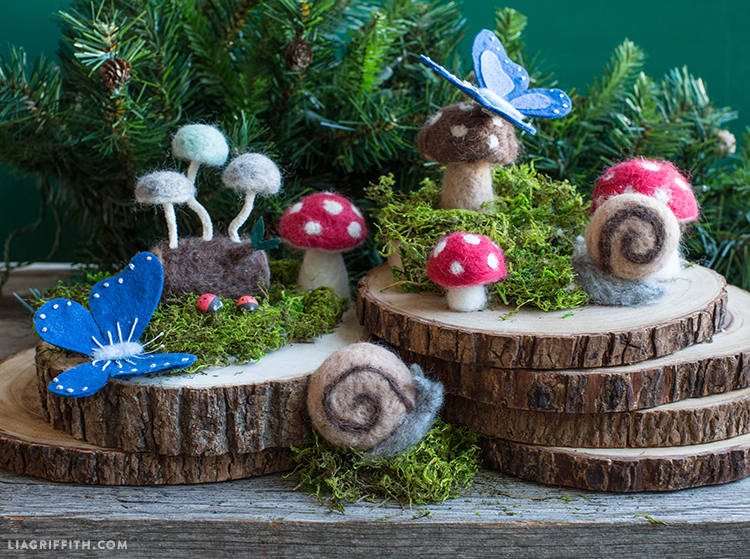 Bramble Workshop for LGM | Felted Forest Creatures