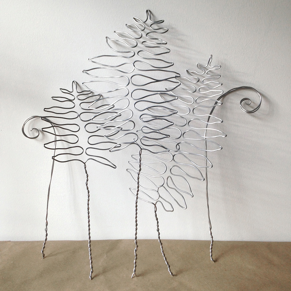 Wire flowers for Hermes | Bramble Workshop