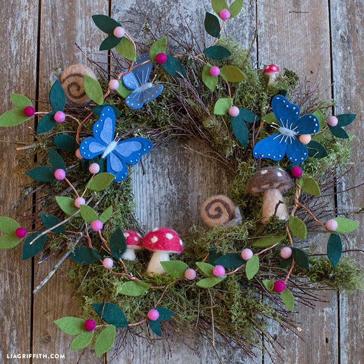 Bramble Workshop for LGM | Felted Wreath