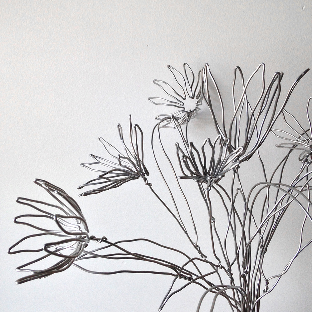 Wire Flowers For Hermès